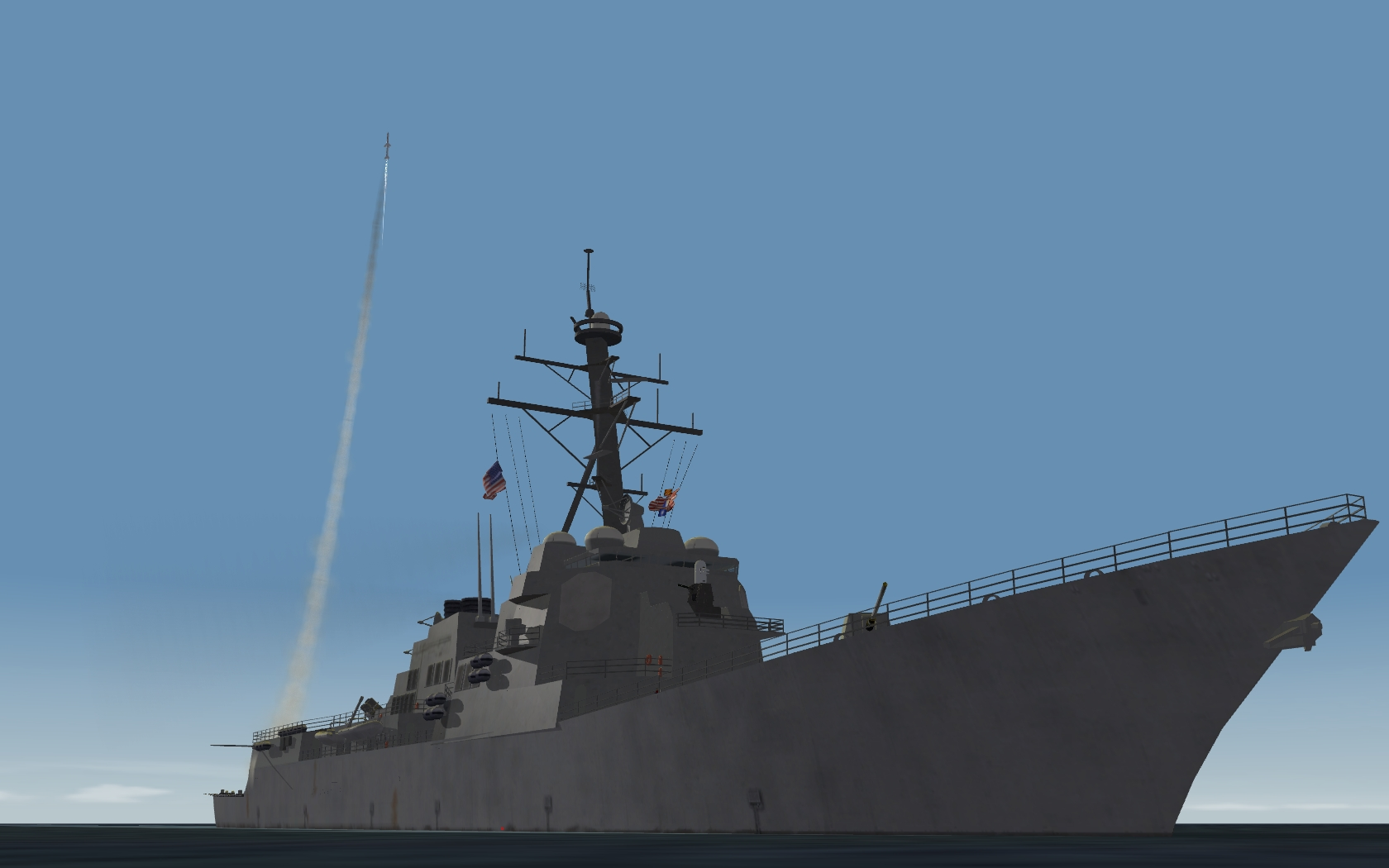 Truxton and Roosevelt Deployed to Persian Gulf