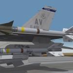 F-16 A2A loadout