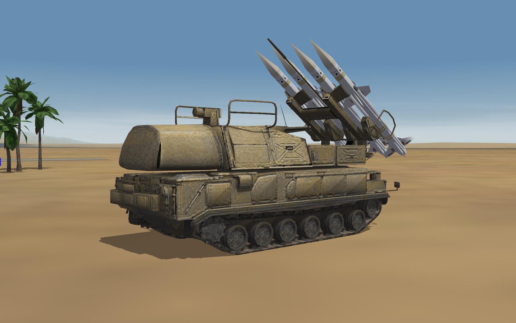 Russian 9K37-BUK Missile System