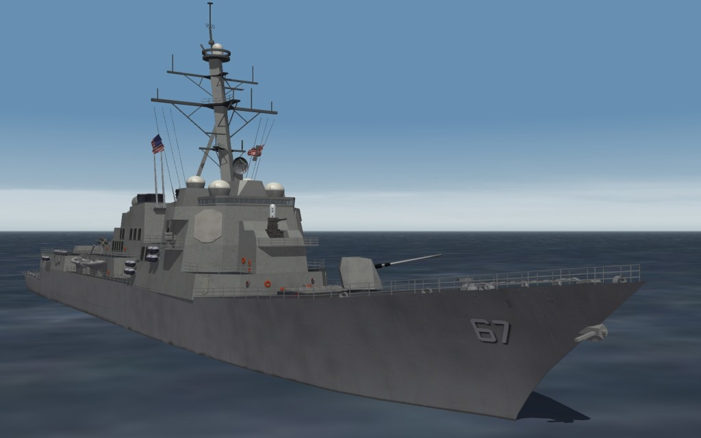 USS Cole Deploys to Sixth Fleet