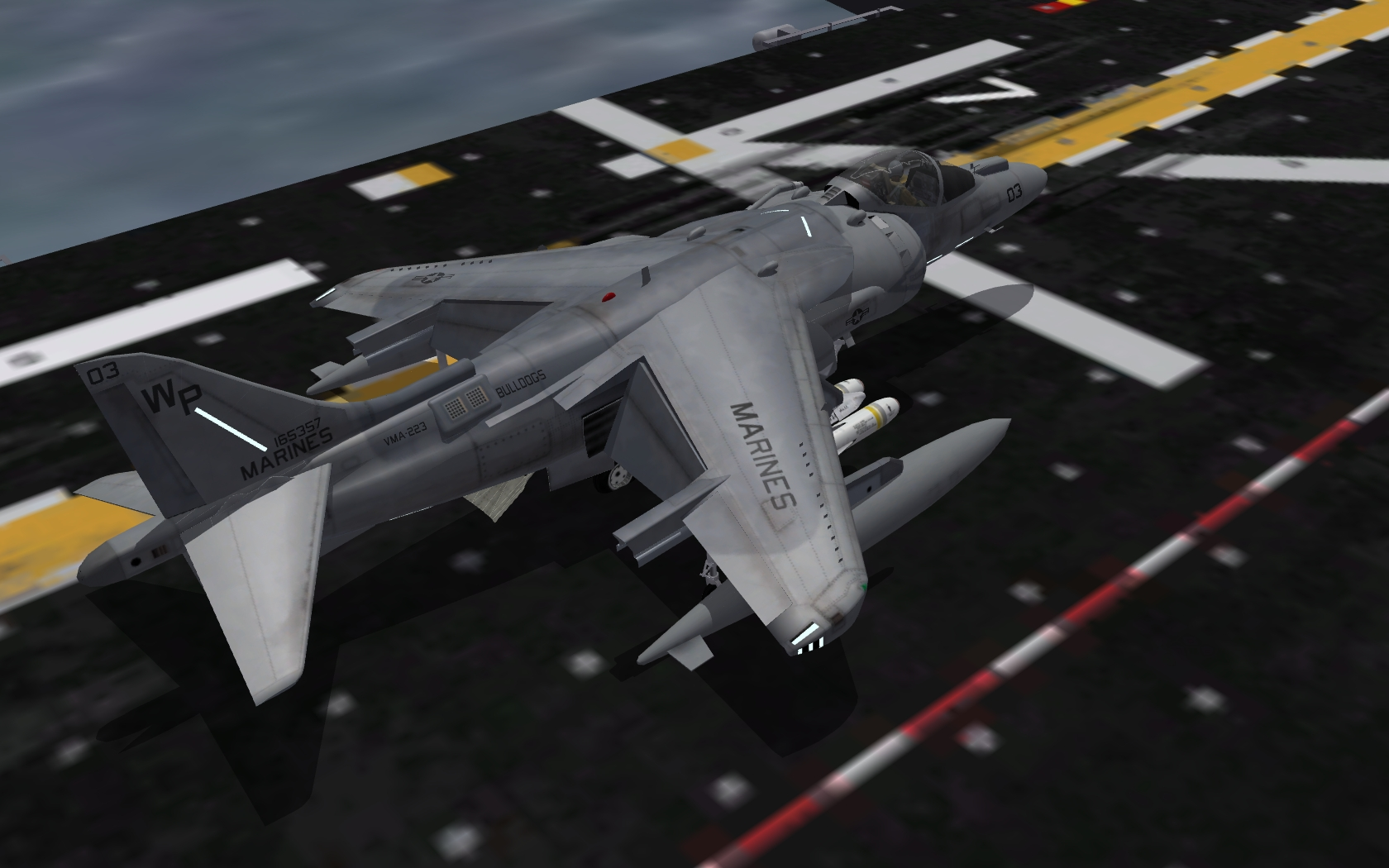Aircraft Aboard The USS Bataan