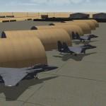 Al Udeid hangars