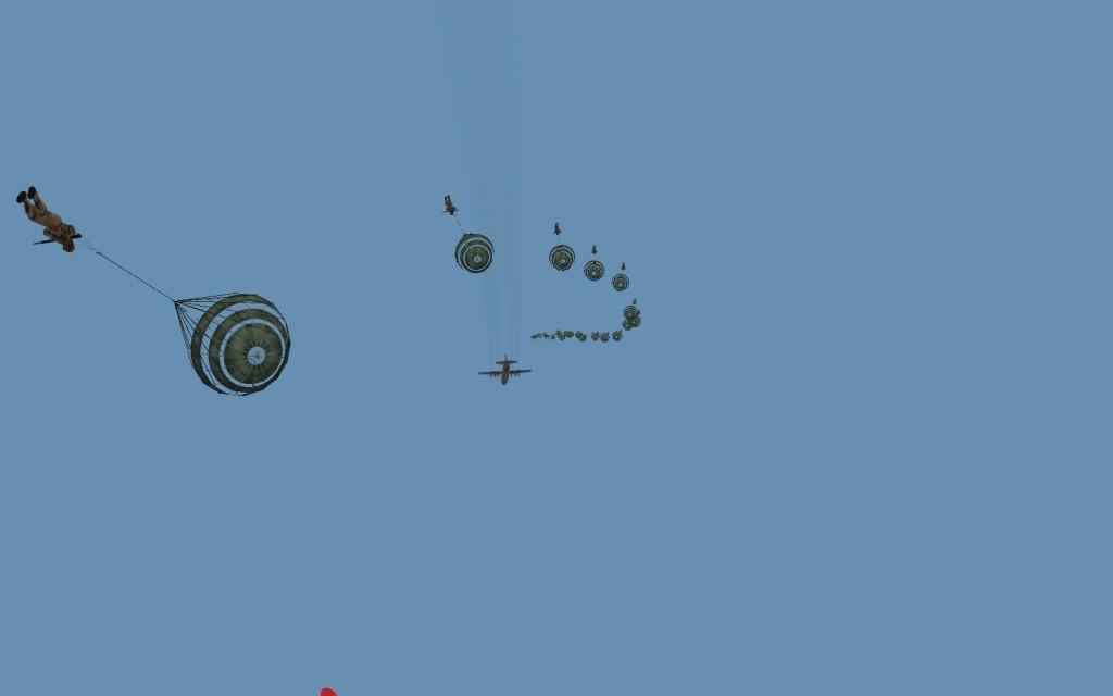 IRIAA paratroopers