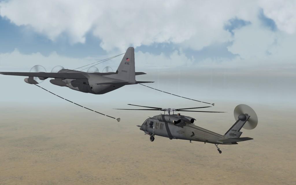 Aerial refuelng