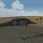 Landing at Spec Ops base
