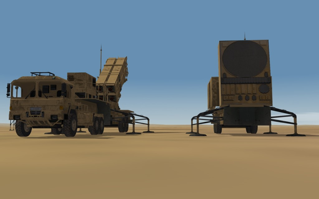 Patriot Missile and Radar