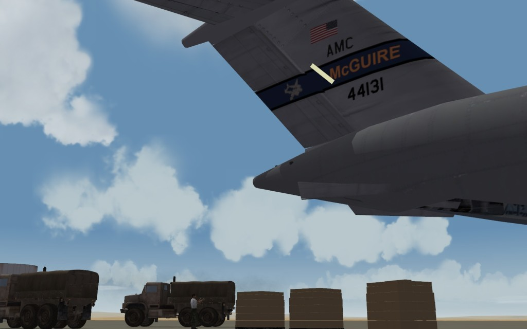 McGuire-based Transports Take On Ebola and ISIL