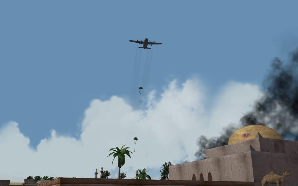 US C-130's resupply Kurds