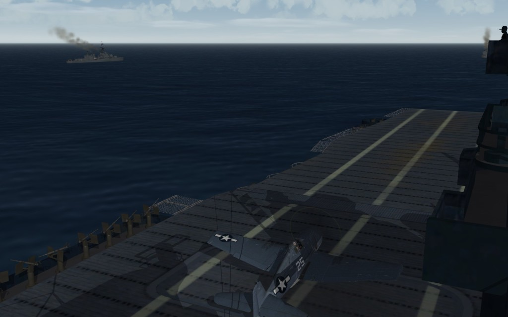 F6F departing