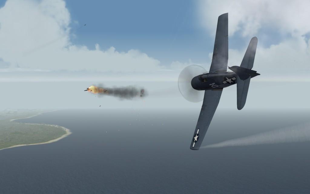 F6F kills Zero