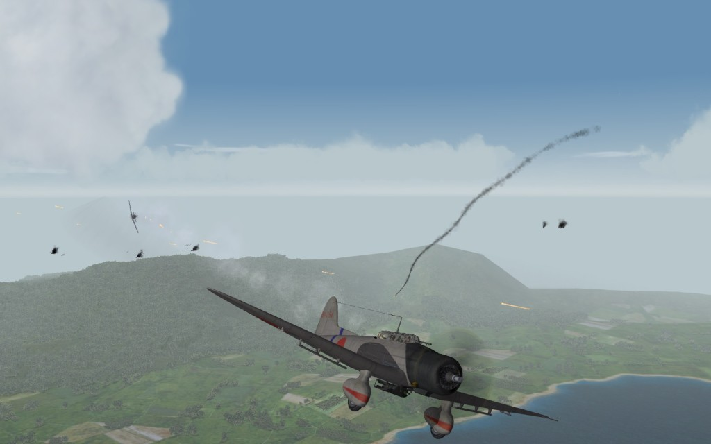 P-36 in pursuit