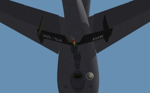 Business end of KC10