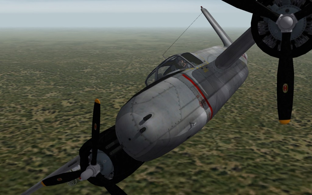 A-26B 6-gun nose