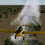 S2T spraying Ranch orchard