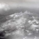 Leyte Landings, 20 October 1944. Landing craft running for shore