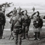 kamikaze-pilots-of-sekicho-hikotai-of-imperial-japanese-army-salute-picture-id457309954